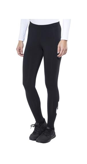 Nike Leg-A-See Logo hardloopbroek Dames zwart